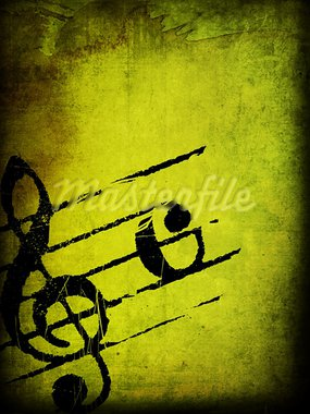 Abstract grunge melody textures and backgrounds with space Stock Photo - Royalty-Free, Artist: ilolab                        , Code: 400-05672052