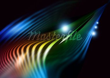 Abstract illustration glowing background. For your design. Stock Photo - Royalty-Free, Artist: dvarg                         , Code: 400-05673182