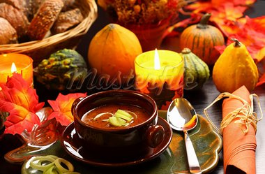 Goulash soup for autumn and Thanksgiving Stock Photo - Royalty-Free, Artist: Brebca                        , Code: 400-05674562