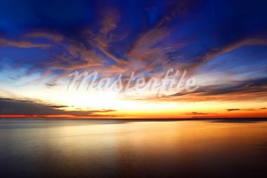 stillness of the ocean Stock Photo - Royalty-Free, Artist: castoroil82                   , Code: 400-05675804