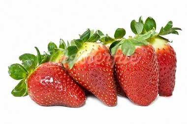 ecological selection of strawberries on white background   Stock Photo - Royalty-Free, Artist: luiscar                       , Code: 400-05676130