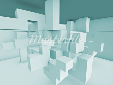 room space of solid structure Stock Photo - Royalty-Free, Artist: sgame                         , Code: 400-05677250