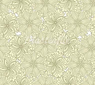 seamless yellow background of beautiful flowers Stock Photo - Royalty-Free, Artist: Oksvik                        , Code: 400-05677290