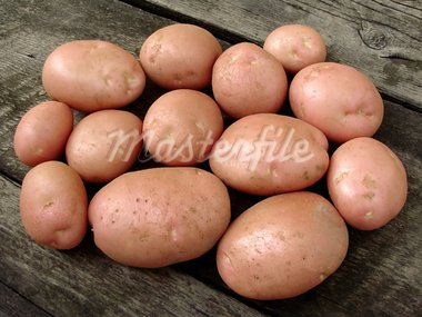 resh harvested pink potato tubers Stock Photo - Royalty-Free, Artist: DLeonis                       , Code: 400-05682393