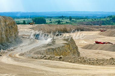 Open-pit mine Stock Photo - Royalty-Free, Artist: WDG_Photo                     , Code: 400-05682749