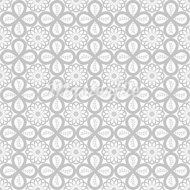Abstract background of beautiful seamless floral pattern Stock Photo - Royalty-Free, Artist: inbj                          , Code: 400-05683155
