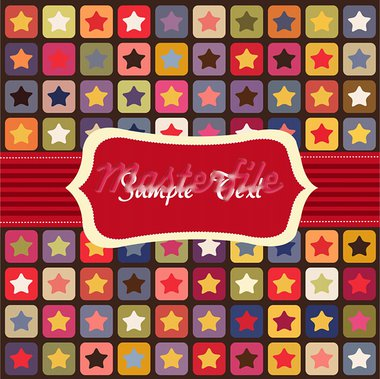 Seamless stars colorful pattern Stock Photo - Royalty-Free, Artist: lemony                        , Code: 400-05683285