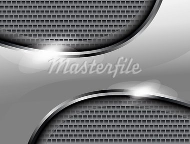 abstract gray steal background vector illustration Stock Photo - Royalty-Free, Artist: rioillustrator                , Code: 400-05684701