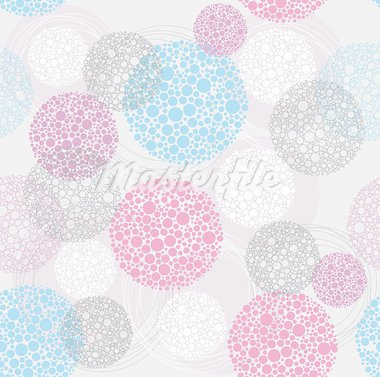 Abstract cute seamless polka dot circle background pattern. Stock Photo - Royalty-Free, Artist: lapesnape                     , Code: 400-05685261