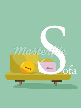 Colorful abc, letter S, vector illustration Stock Photo - Royalty-Free, Artist: kariiika                      , Code: 400-05686569