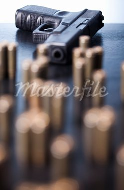 Gun. Stock Photo - Royalty-Free, Artist: JanPietruszka                 , Code: 400-05692369