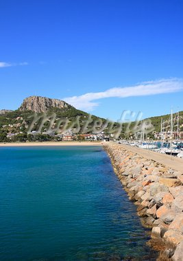 Estartit port and beach (Costa Brava, Spain) Stock Photo - Royalty-Free, Artist: Marlee                        , Code: 400-05693103