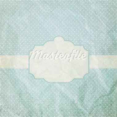 Vintage crumpled paper with frame Stock Photo - Royalty-Free, Artist: Alex_Smith                    , Code: 400-05693718