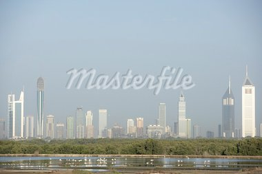 Dubai City Skyline Stock Photo - Royalty-Free, Artist: MonkeyBusinessImages          , Code: 400-05696852