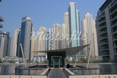 dubai marina view day time Stock Photo - Royalty-Free, Artist: radodn                        , Code: 400-05699512