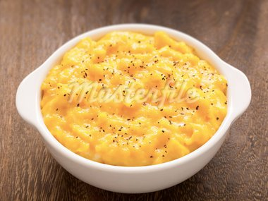 close up of a bowl of scrambled eggs Stock Photo - Royalty-Free, Artist: zkruger                       , Code: 400-05706379