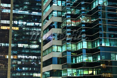 office at night Stock Photo - Royalty-Free, Artist: leungchopan                   , Code: 400-05710843