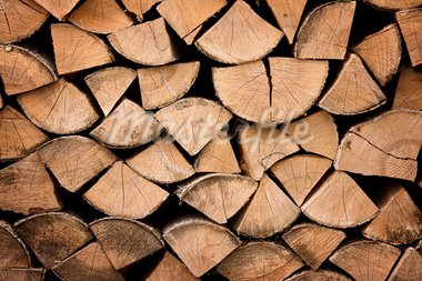Firewood texture, after the sawing wood Stock Photo - Royalty-Free, Artist: Taigi                         , Code: 400-05713918