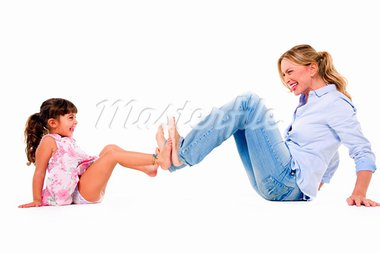 mother and daughter mum Stock Photo - Royalty-Free, Artist: ambro                         , Code: 400-05714343