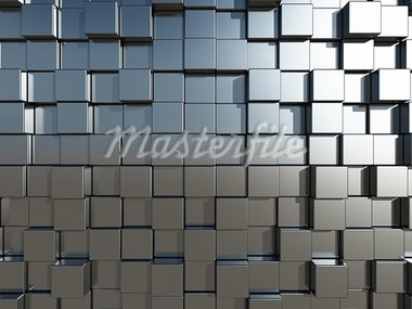 3d cubes background - illustration Stock Photo - Royalty-Free, Artist: drizzd                        , Code: 400-05714645