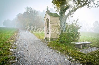 An image of a beautiful landscape at Andechs Bavaria Germany Stock Photo - Royalty-Free, Artist: magann                        , Code: 400-05715501