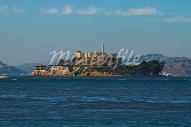 Alcatraz Island in San Francisco Bay California Stock Photo - Royalty-Free, Artist: jpldesigns                    , Code: 400-05717678