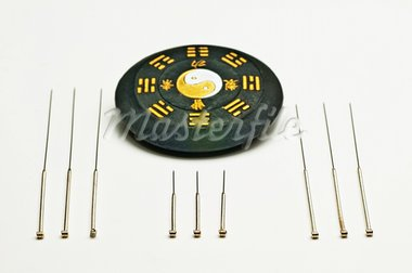 acupuncture needles Stock Photo - Royalty-Free, Artist: Jochen                        , Code: 400-05719058