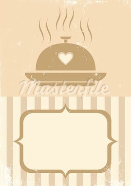 Retro illustration of a tray of food Stock Photo - Royalty-Free, Artist: serazetdinov                  , Code: 400-05720758