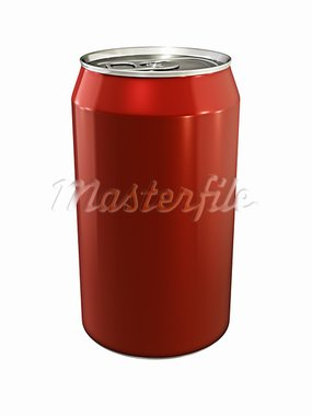 3d illustration of drink can on white background Stock Photo - Royalty-Free, Artist: inhabitant                    , Code: 400-05723008
