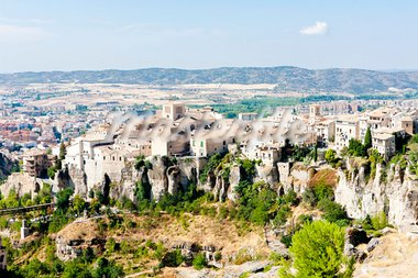 Cuenca, Castile-La Mancha, Spain Stock Photo - Royalty-Free, Artist: phbcz                         , Code: 400-05724406