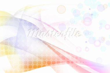 Abstract colorful pattern and circles on white background Stock Photo - Royalty-Free, Artist: STILLFX                       , Code: 400-05728550