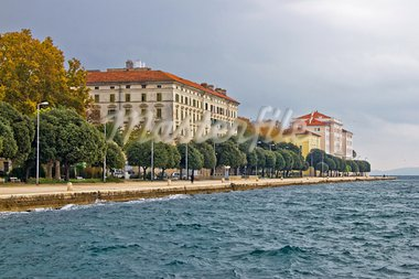 Beautiful Adriatic Town of Zadar waterfront with pedestrian walkway, Croatia Stock Photo - Royalty-Free, Artist: xbrchx                        , Code: 400-05728664