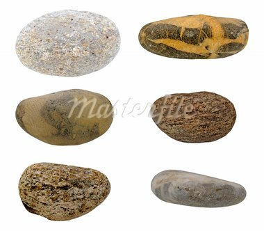 Stone on white background Stock Photo - Royalty-Free, Artist: ckkeller                      , Code: 400-05730104