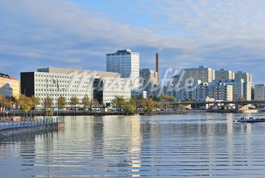 Finland. Contemporary district in Helsinki in the early autumn morning Stock Photo - Royalty-Free, Artist: TatyanaSavvateeva             , Code: 400-05733482