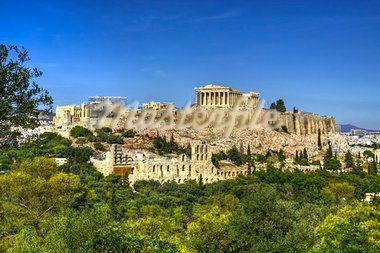 The historical monument of Greece, the Acropolis Stock Photo - Royalty-Free, Artist: thegreekphotoholic            , Code: 400-05736814