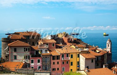 Photo of Tellaro, ancient village of Liguria in Italy Stock Photo - Royalty-Free, Artist: catalby                       , Code: 400-05738156