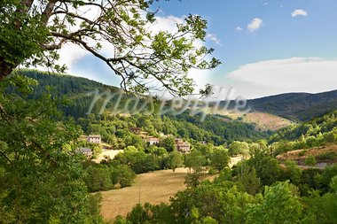 Small French Town in the Alps Spurs Stock Photo - Royalty-Free, Artist: gkuna                         , Code: 400-05744616