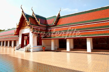 Thai temples in Bangkok, Thailand. Stock Photo - Royalty-Free, Artist: samarttiw                     , Code: 400-05744918