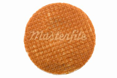 object on white - food waffles with caramel Stock Photo - Royalty-Free, Artist: Garry518                      , Code: 400-05746146