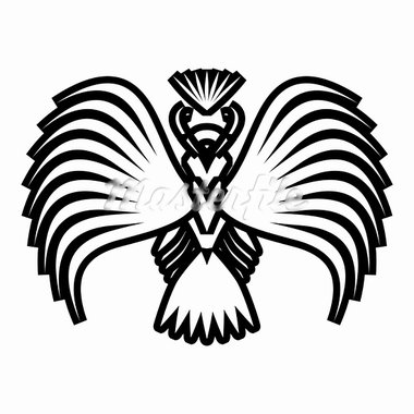 Eagle symbols and tattoo, vector illustration. Stock Photo - Royalty-Free, Artist: aarrows                       , Code: 400-05746394