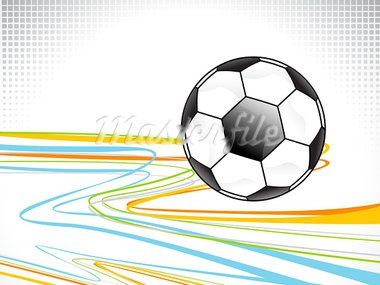 abstract football background design vector illustration Stock Photo - Royalty-Free, Artist: pathakdesigner                , Code: 400-05750387
