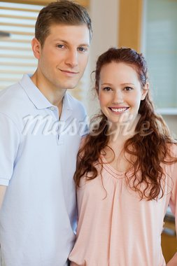 Couple standing in the kitchen together Stock Photo - Royalty-Free, Artist: 4774344sean                   , Code: 400-05751161