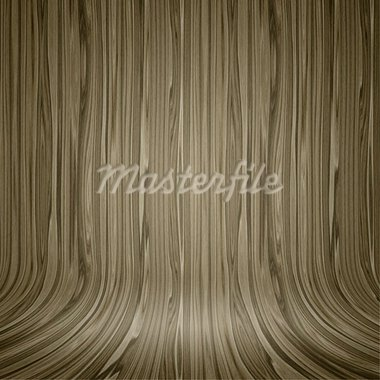 An image of a beautiful wooden background curved Stock Photo - Royalty-Free, Artist: magann                        , Code: 400-05752810