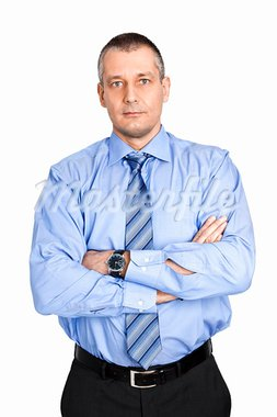 An image of a handsome business man Stock Photo - Royalty-Free, Artist: magann                        , Code: 400-05753096