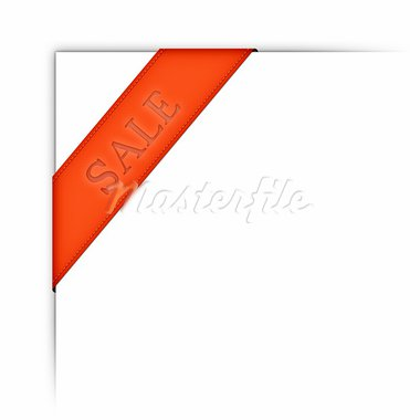 An image of a modern web ribbon sale Stock Photo - Royalty-Free, Artist: magann                        , Code: 400-05753332