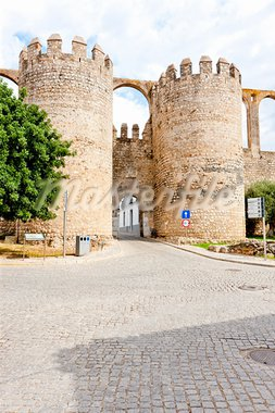 Porta de Beja in Serpa, Alentejo, Portugal Stock Photo - Royalty-Free, Artist: phbcz                         , Code: 400-05753420