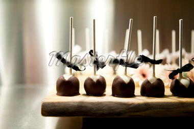 Chocolate Lollipops at Wedding Stock Photo - Premium Royalty-Free, Artist: Ikonica, Code: 600-05756453