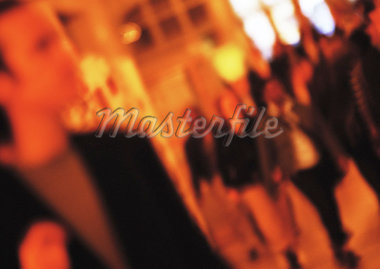 Crowd of people, blurred, tilt Stock Photo - Premium Royalty-Freenull, Code: 695-05776527