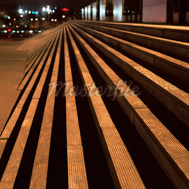 Deserted steps, night Stock Photo - Premium Royalty-Freenull, Code: 695-05777088
