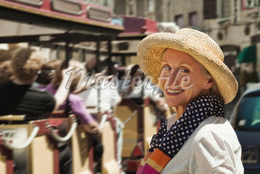 Portrait of Woman in France Stock Photo - Premium Rights-Managed, Artist: Strauss/Curtis, Code: 700-05780987